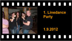 1. Linedance Party   1.9.2012